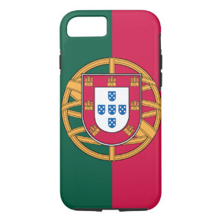 Coque iPhone 8/7 cas de l'iPhone 7, drapeau portugais