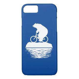 Coque iPhone 8/7 cas de l'iPhone 7 : Sauvez la bicyclette d'ours