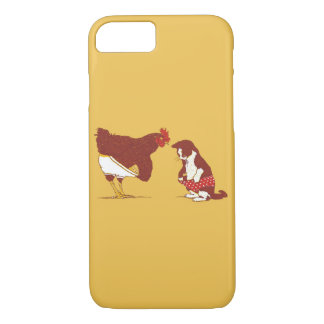 Coque iPhone 8/7 Cas de l'iPhone CURIEUX 7 de CAT ET de CHOOK