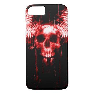 Coque iPhone 8/7 cas de messager de la mort de crâne de Skully de