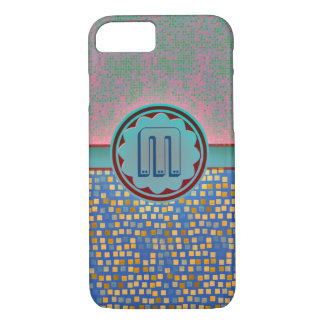 Coque iPhone 8/7 Cas de monogramme