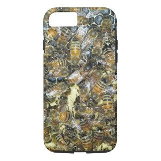 Coque iPhone 8/7 cas de téléphone d'abeille de miel de reine de