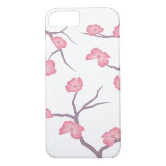 Coque iPhone 8/7 Cas de téléphone de branches de fleurs de cerisier