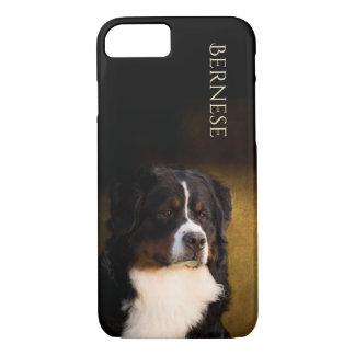 Coque iPhone 8/7 Cas de téléphone de chien de montagne de Bernese