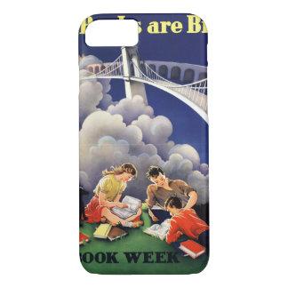 Coque iPhone 8/7 Cas de téléphone de la semaine du livre de 1946