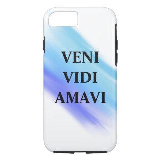 Coque iPhone 8/7 Cas de téléphone de Veni Vidi Amaci
