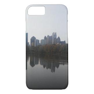 Coque iPhone 8/7 Cas de téléphone d'horizon d'Atlanta