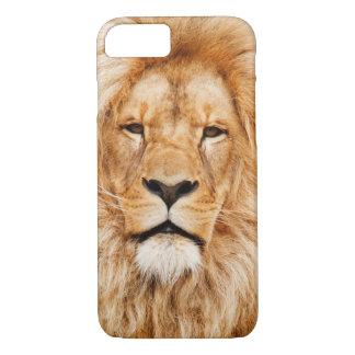 Coque iPhone 8/7 Cas de téléphone portable de lion