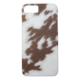 Coque iPhone 8/7 Cas d'Iphone 7 d'impression de peau de vache
