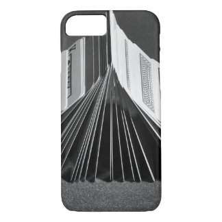 Coque iPhone 8/7 Cas : Domino de tisonnier de cartes de jeu