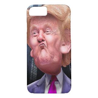Coque iPhone 8/7 Cas drôle de téléphone avec la caricature de