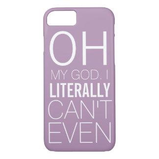 Coque iPhone 8/7 Cas drôle pour les dames qui ne peuvent pas