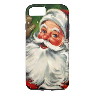 Coque iPhone 8/7 Cas dur de l'iPhone 7 de Père Noël