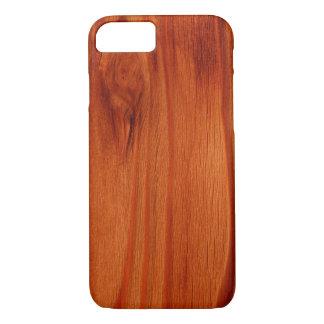 Coque iPhone 8/7 Cas en bois poli de l'iPhone 7 de motif