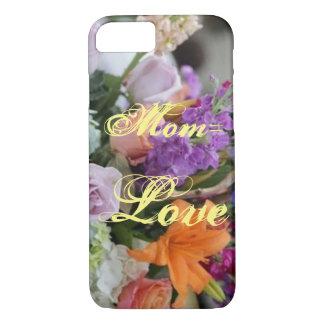 Coque iPhone 8/7 Cas floral de téléphone du jour de mère