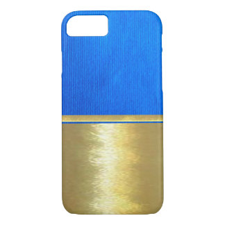Coque iPhone 8/7 Cas frais de conception d'or de l'iPhone 7 de