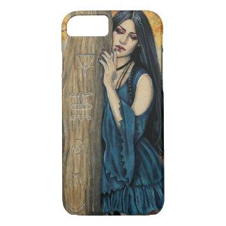 Coque iPhone 8/7 Cas gothique de téléphone d'art d'imaginaire de