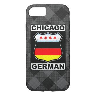 Coque iPhone 8/7 Cas mobile américain allemand de Chicago