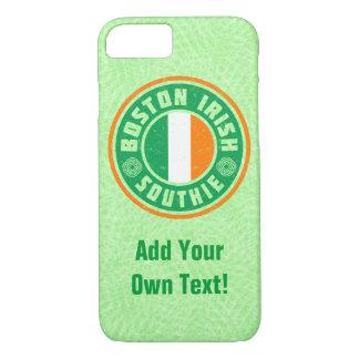 Coque iPhone 8/7 Cas mobile de Southie d'Irlandais de Boston