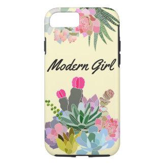 Coque iPhone 8/7 Cas moderne de téléphone de fille