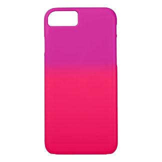 Coque iPhone 8/7 Cas rose de gradient