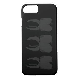 Coque iPhone 8/7 Cas sage de téléphone de dentiste de trois dents