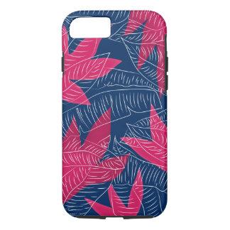 Coque iPhone 8/7 Cas tropical de l'iPhone 6/6s de croquis de paume