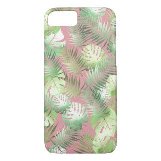Coque iPhone 8/7 Cas tropical de téléphone de feuille