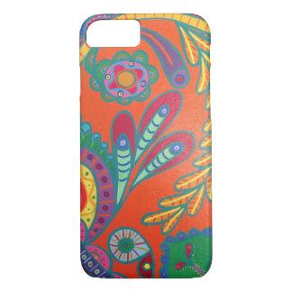 Coque iPhone 8/7 Cas vibrant de téléphone de coeur