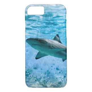 Coque iPhone 8/7 Cas vintage de requin