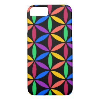 Coque iPhone 8/7 Cercles d'arc-en-ciel