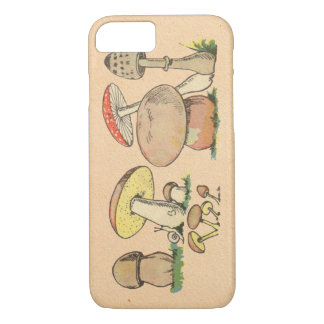 Coque iPhone 8/7 Champignon vintage