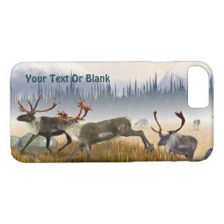 Coque iPhone 8/7 Chasseurs dans la brume (caribou)