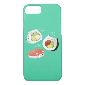 Coque iPhone 8/7 Chat mignon de sushi