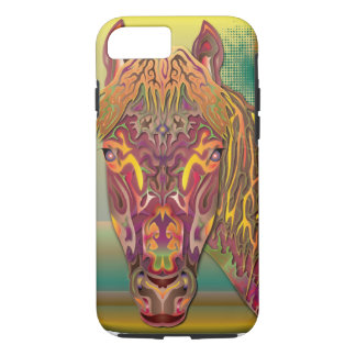Coque iPhone 8/7 Cheval de Bourgogne