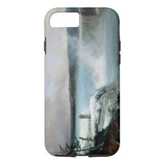 Coque iPhone 8/7 Chutes du Niagara, c.1837-40 (huile sur la toile)