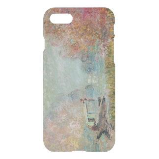 Coque iPhone 8/7 Claude Monet | le studio de bateau sur la Seine,