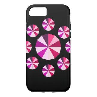 Coque iPhone 8/7 coeur de couleurs