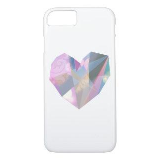 Coque iPhone 8/7 Coeur de diamant