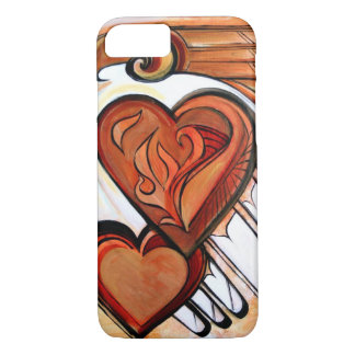 Coque iPhone 8/7 Coeur de Firebird