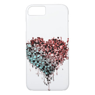Coque iPhone 8/7 Coeur de graffiti