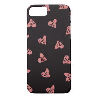 Coque iPhone 8/7 Coeurs
