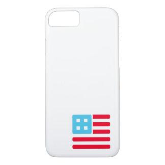 Coque iPhone 8/7 Coin comptable de drapeau