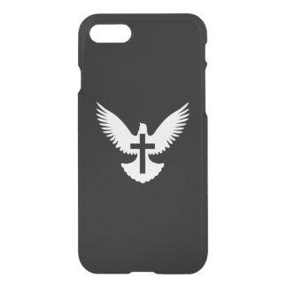 Coque iPhone 8/7 Colombe avec la croix