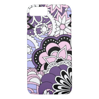 Coque iPhone 8/7 colorful zen pattern