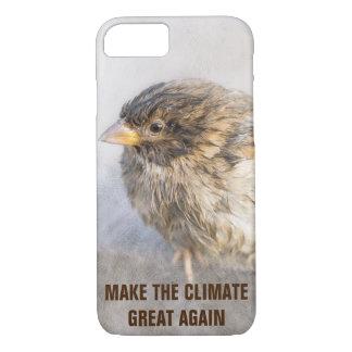 Coque iPhone 8/7 Conscience de changement climatique