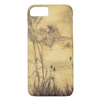 Coque iPhone 8/7 Conte de fées vintage, Tightrope de la fée par