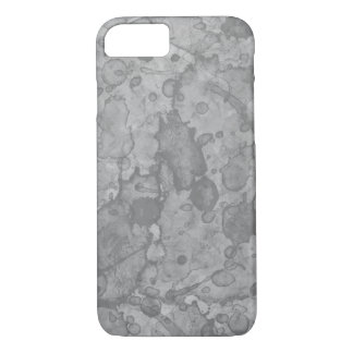 Coque iPhone 8/7 Copie en pierre abstraite d'aquarelle