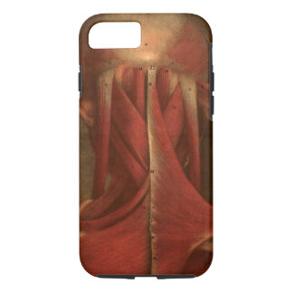 Coque iPhone 8/7 Cou vintage de l'anatomie |