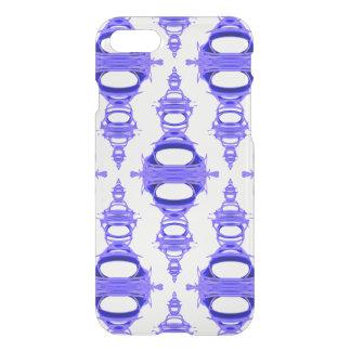 Coque iPhone 8/7 Coutume moderne Backgrnd de violette des diviseurs